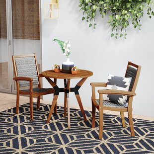 Rhett 3 Piece Bistro Set
