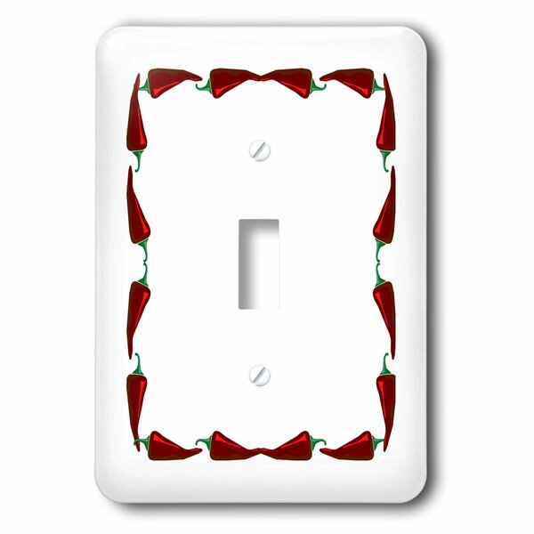 3drose Chili Peppers 1 Gang Toggle Light Switch Wall Plate Wayfair