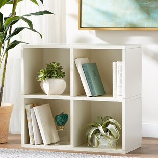 Shopping for Skye Quad Cube Unit Bookcase By Ebern Designs