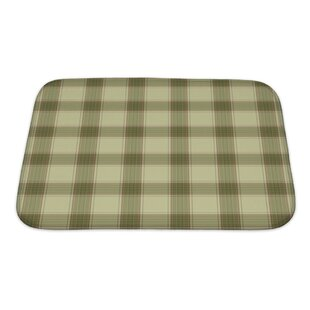 Picnic Plaid In Soft Tones With Terra Cotta Accents Bath Rug by Gear New 2019 Coupon