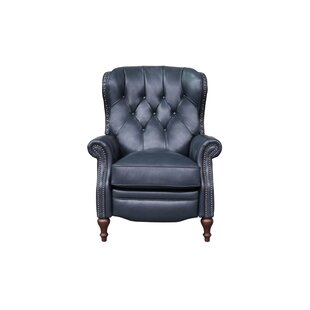 Darby Home Co McManus Leather Manual Recliner