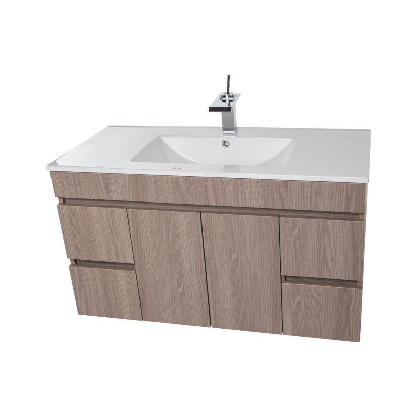 Ivy Bronx Lofland 40 Wall Mounted Single Bathroom Vanity Set Wayfair