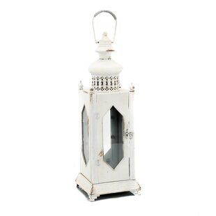 Ophelia & Co. Diamond Shaped Iron Lantern