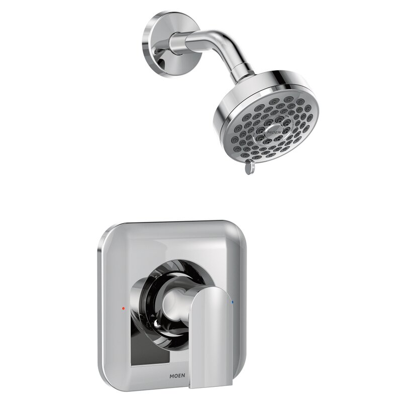 Genta Shower Faucet Lever Handle with Posi-Temp & Reviews | AllModern