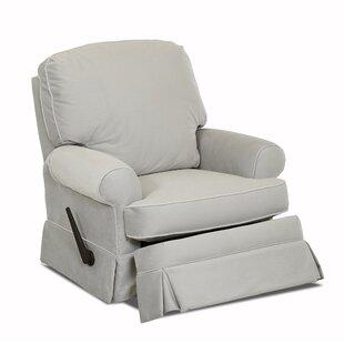 Wayfair Custom Upholstery™ Bingham Swivel Glider Recliner