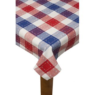 Audra Plaid Tablecloth