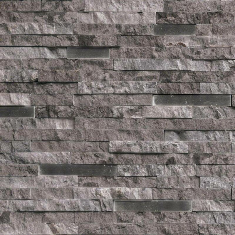 MSI Eclipse Interlocking Pattern Random Sized Stone/Metal Splitface ...