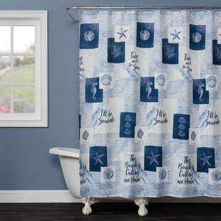 Rumi Fabric Single Shower Curtain