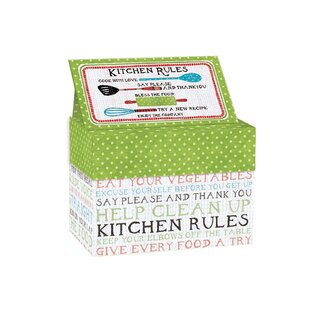 Ebern Designs Kitchen Rules Recipe Card