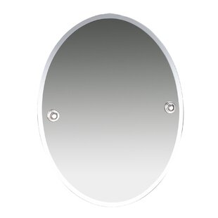 Affordable Oslo Bevelled Wall Mirror By Valsan