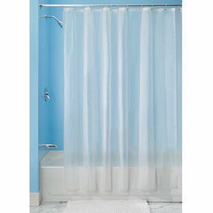 Vinyl Waterproof Shower Curtain By Symple Stuff