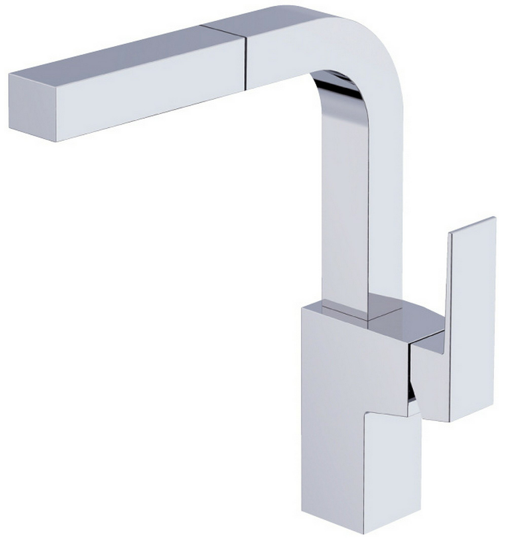 Mid Town Pull Out Single Handle Kitchen Faucet Reviews Allmodern