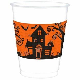 Halloween Plastic Disposable Everyday Cup (Set of 50)