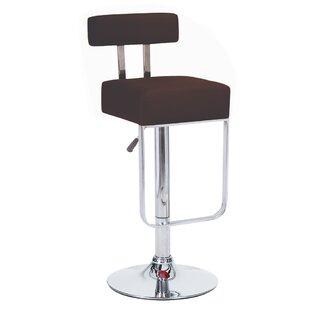 Vandue Corporation Blok Adjustable Height Swivel Bar Stool (Set of 4)