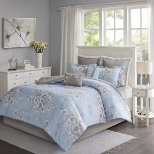 Ophelia & Co. Cindina Printed 8 Piece Comforter Set