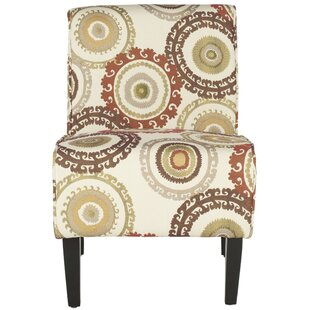 Charlton Home Galaviz Cotton Slipper Chair
