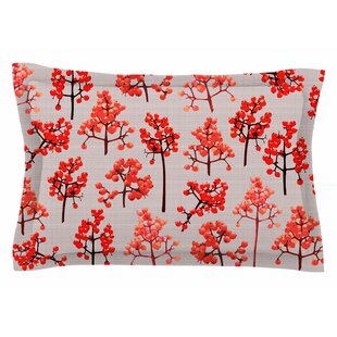 Pallerina Design 'Holiday Berry Twigs' Floral Sham by East Urban Home Looking for