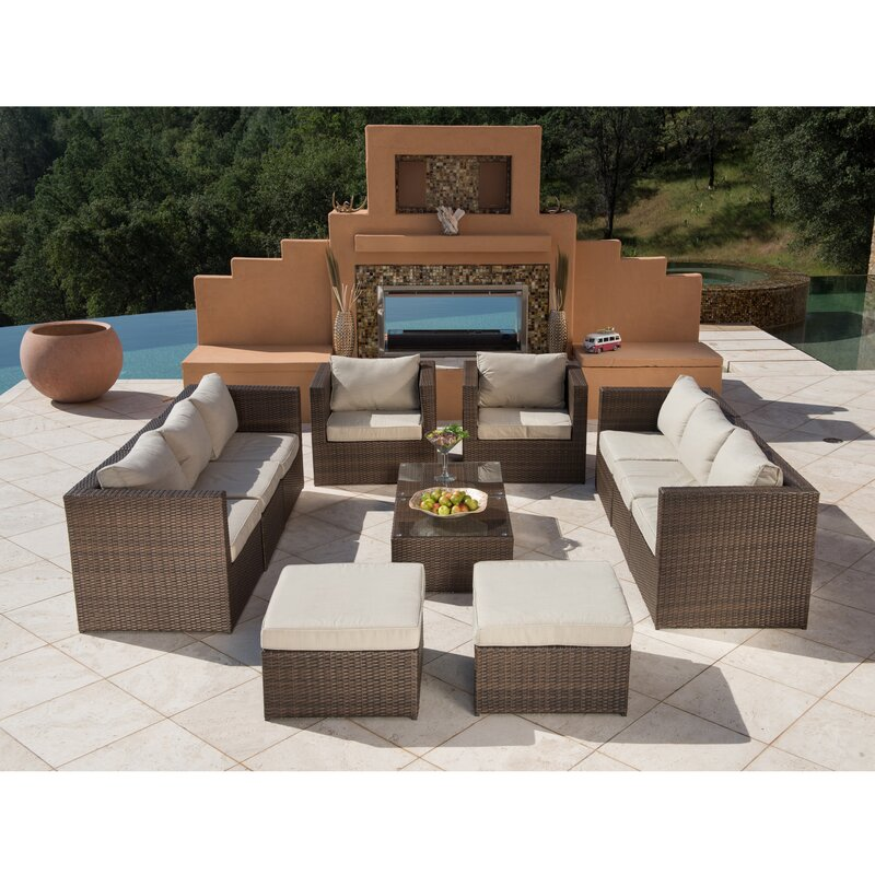 Eastbrook 12 Piece Sectional Set with Cushions