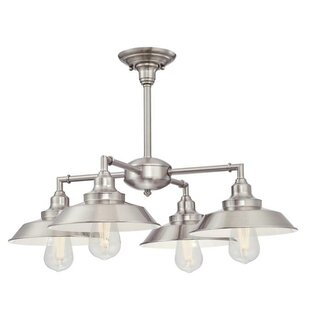 Trent Austin Design Alayna 4-Light Semi-Flush Mount
