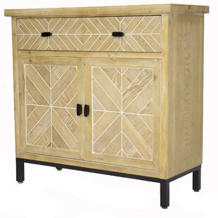 Eliza 2 Drawer 2 Door Accent Cabinet