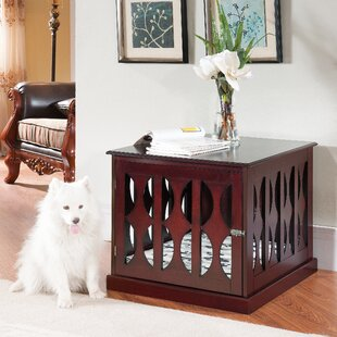 claudia pet crate - Dog Crate Side Table