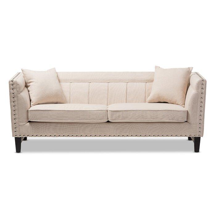 Outstanding Baxton Studio Stapleton Modern Sofa Spiritservingveterans Wood Chair Design Ideas Spiritservingveteransorg