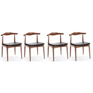 Chancy Solid Wood Dining Chair (Set of 4)