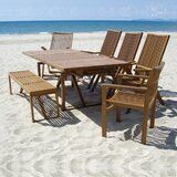 Baskin Solid Wood  Dining Table