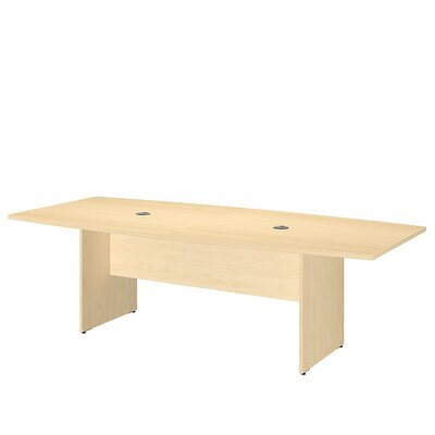 Bush Business Furniture Boat Shaped Conference Table