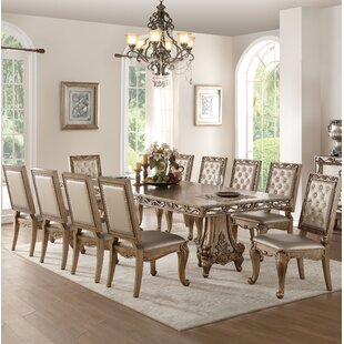 Hogan 11 Piece Drop Leaf Extendable Dining Set