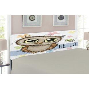 Owls Queen Upholstered Panel Headboard