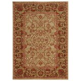 Tommy Bahama Vintage Wool Beige/Red Area Rug by Tommy Bahama Home
