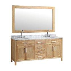 Dennis 72 Double Bathroom Vanity Mirror Set Reviews