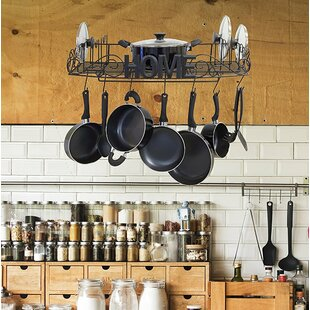 Decorative Wall Mounted Pot Rack