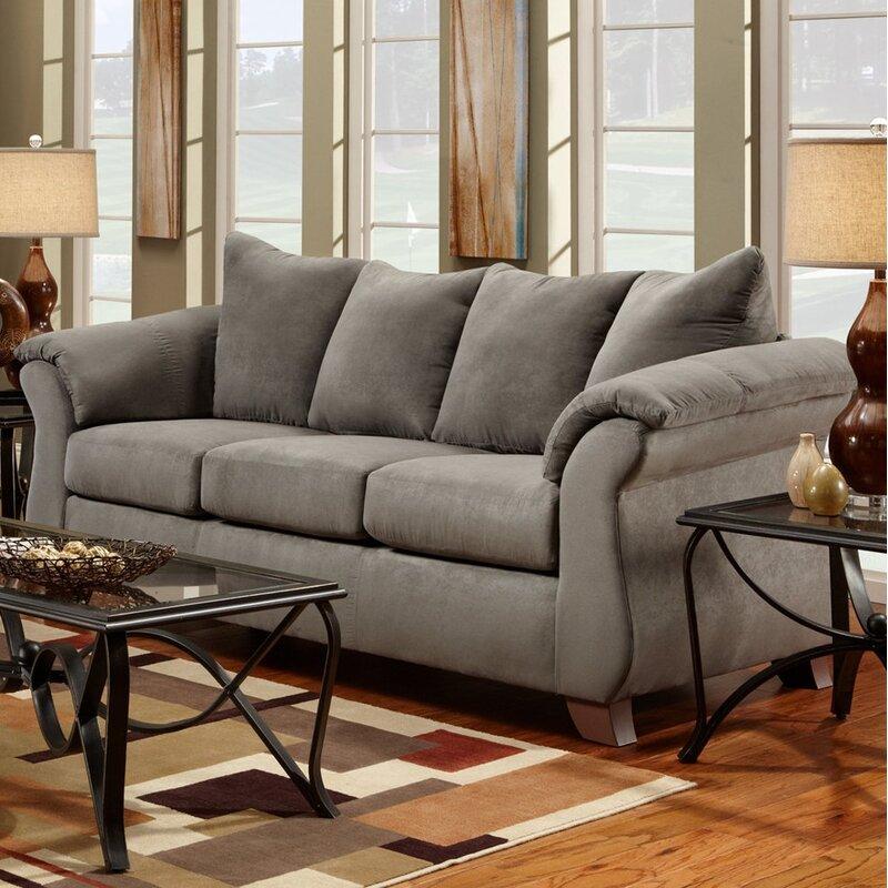 Charlton Home Hively Pillow Back Sofa