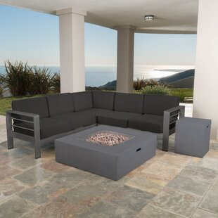 Royalston 9 Piece Sectional Set with Cushions by Brayden Studio