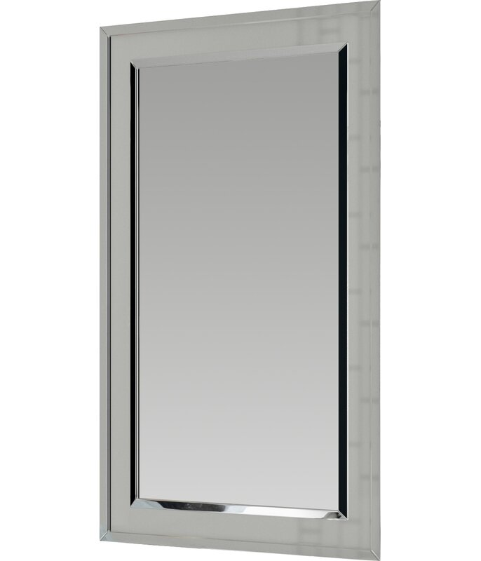 Graford 16 X 26 Recessed Framed Medicine Cabinet With 2