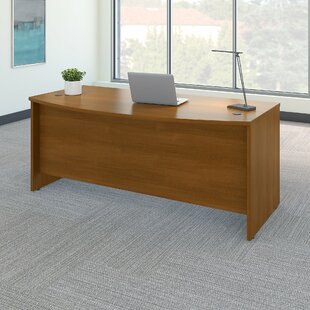 Series C Bow Front Desk Shell by Bush Business Furniture