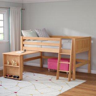 Shop For Oakwood Twin Low Loft Bed by Mack & Milo Reviews (2019) & Buyer's Guide