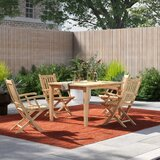 Anthony 5 Piece Teak Dining Set