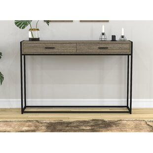 Stroud Metal Console Table