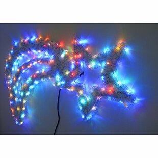Animated Shooting Star LED Lighted Display Image