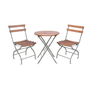 Innova Hearth and Home Uptown 3 Piece Bistro Set