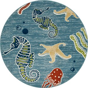 Ceasar Deep Sea Indoor/Outdoor Area Rug