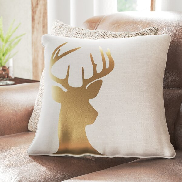 Deer Silhouette Pillow Wayfair
