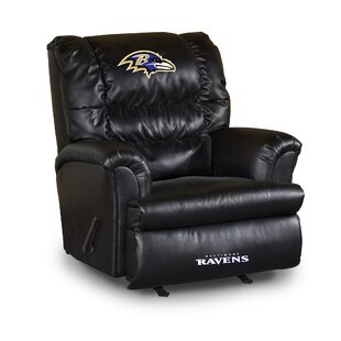 NFL Leather Manual Recliner