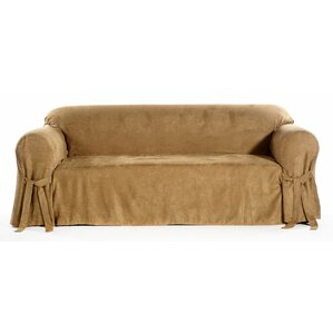 Chic Box Cushion Sofa Slipcover by Classic Slipcovers
