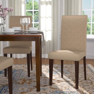Moseley Upholstered Parsons Chair (Set Of 2)