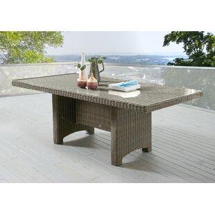 Sandefur Rattan Dining Table Image