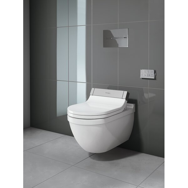 Duravit Starck 3 Wall Mounted Toilet Bowl For Sensowash Dual Flush Perigold